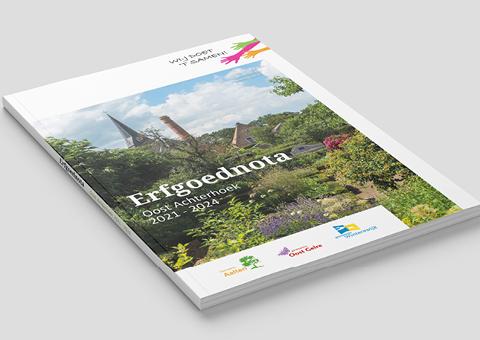 Afbeelding | Voorkant Erfgoednota Oost Achterhoek 2021-2024