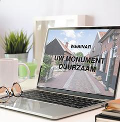 Afbeelding | Webinar 'Uw monument duurzaam'