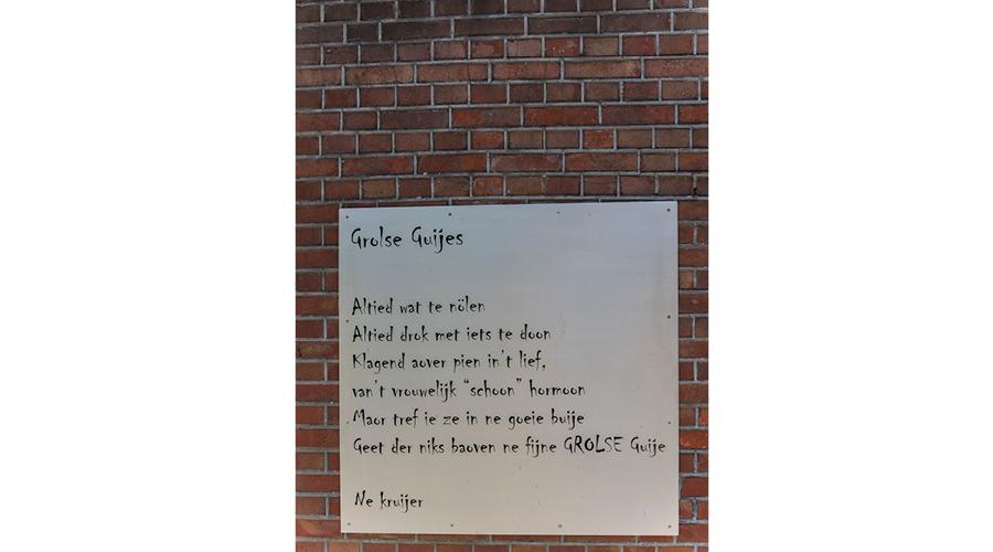 Afbeelding   Gedicht in groenlo