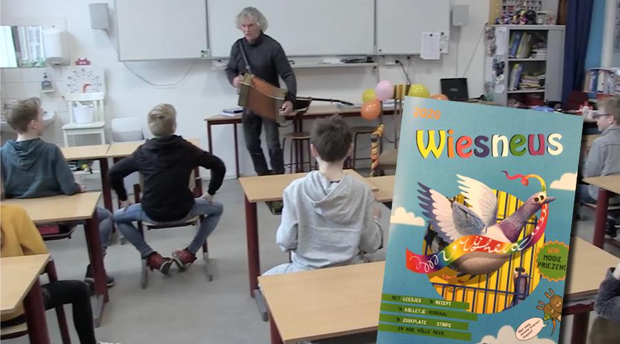 Afbeelding   Wiesneus in de klas